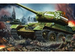 T-34/85 Modell 1944 Factory No. 183 - 1:16
