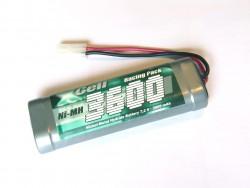 XCell RC-Pack 3600mAh, Ni-MH 7,2V