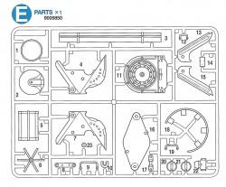 E Teile (E1-E22) für Tamiya Panther Serie (56022 und 56024) 1:16