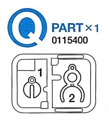 Q Teile (Q1-Q2) für Tamiya 56022, 56024, 56026, 56032 1:16