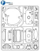 F Teile (F1-F22) für Tamiya M26 Pershing (56016) 1:16
