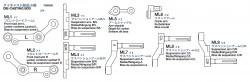 Schwingarmbeutel (ML1-ML9) für Tamiya M26 Pershing (56016)