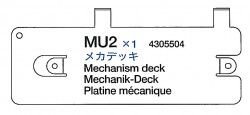 Mechnik-Deck (MU2) für Tamiya M26 Pershing (56016) 1:16