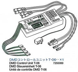 DMD Kontroll Einheit T-06 für Tamiya M26 Pershing (56016) 1:16