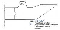 Halterung des Rückstoßgetriebes für Tamiya 56024 1:16