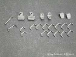 Metal Part Set II. (small parts set) Leopard 2A6