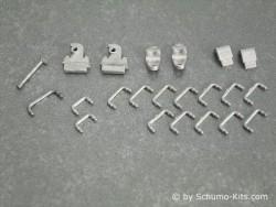Metallteile-Set II.(Kleinteile-Set) Leopard 2A6