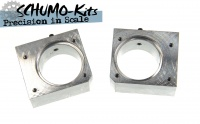 Idler System Mount, solid Aluminum, for Tamiya King Tiger