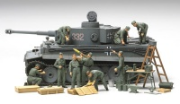 WWII German Tank Crew Field Maintenance Set - 1/48