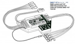 DMD Control Unit T-07 for Tamiya Leopard 2A6 (56020) 1:16