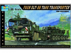 Deutscher Panzertransporter SLT-56 - FAUN - 1:35