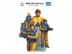WW2 USN LCM crew - 1/35