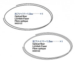 Optical Fiber (1,0mm & 1,5mm) for Tamiya 56020
