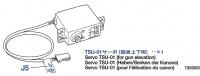 Servo TSU-01 (Gun Elevation) for Tamiya Leopard 2A6 (56020) 1:16