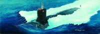 USS SSN-21 Seawolf Attack Submarine - 1/144