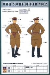 WWII Russischer Offizier Vol. 2 1:16