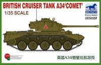 British Cruiser Tank A34 - Comet - 1/35