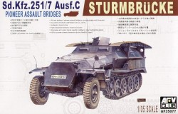 Sd.Kfz. 251/7 Ausf. C -  Sturmbrücke - 1/35