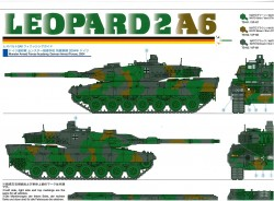 Finishing Guide for Tamiya Leopard 2A6 (56020) 1:16