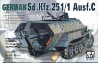 Sd.Kfz. 251/1 Ausf. C - Schützenpanzer - 1/35