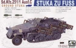 Sd.Kfz. 251/1 Ausf. C - Stuka zu Fuss - 1/35