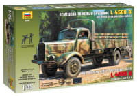 German Heavy 4WD Cargo Truck L4500 A - 1/35