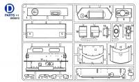 D Teile (D1-19) für Tamiya Panzer IV Ausf. J (56026) 1:16