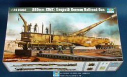 German 28cm Railwaygun K5(E) Leopold - 1/35