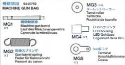 Maschinengewehrbeutel für Panzer IV Ausf. J (56026)