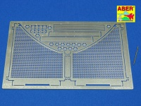 Photo Etched Anti Mine Mesh for Tamiya King Tiger 1:16 (ABER)