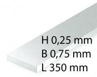 Plastik-Streifen - 0,28 x 0,75 x 350 mm (10 Stück)