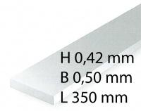 Plastik-Streifen - 0,42 x 0,50 x 350 mm (10 Stück)