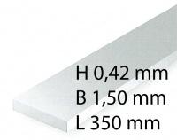 Plastik-Streifen - 0,42 x 1,50 x 350 mm (10 Stück)