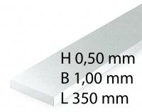 Plastik-Streifen - 0,50 x 1,00 x 350 mm (10 Stück)