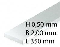 Plastik-Streifen - 0,50 x 2,00 x 350 mm (10 Stück)