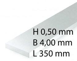 Plastic-Stripes - 0,50 x 4,00 x 350 mm (10 Pcs.)