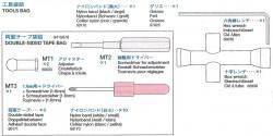 Werkzeugbeutel (MT1-3, Fett usw.) für Tamiya 56010