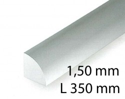 Quarter round - 1,50 x 350 mm (4 Pcs.)