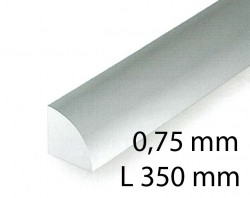 Quarter round - 0,75 x 350 mm (5 Pcs.)