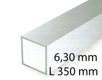 Square tubings - 6,30 x 350 mm (2 Pcs.)