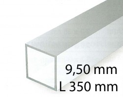 Square tubings - 9,50 x 350 mm (2 Pcs.)