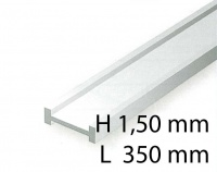 I-Beams - 1,50 x 350 mm (4 Pcs.)