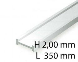 I-Beams - 2,00 x 350 mm (4 Pcs.)