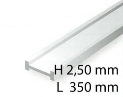I-Profil - 2,50 x 350 mm (4 Stück)