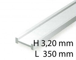 I-Beams - 3,20 x 350 mm (4 Pcs.)