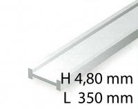 I-Profil - 4,80 x 350 mm (3 Stück)
