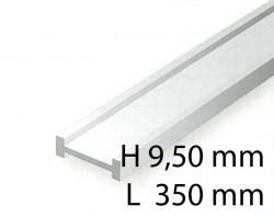 I-Profil - 9,50 x 350 mm (2 Stück)