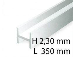 H-Profil - 2,00 x 350 mm (4 Stück)