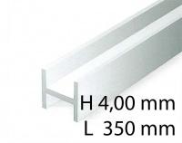 H-Profil - 4,00 x 350 mm (3 Stück)