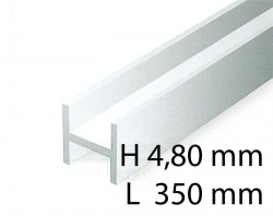 H-Beams - 4,80 x 350 mm (3 Pcs.)